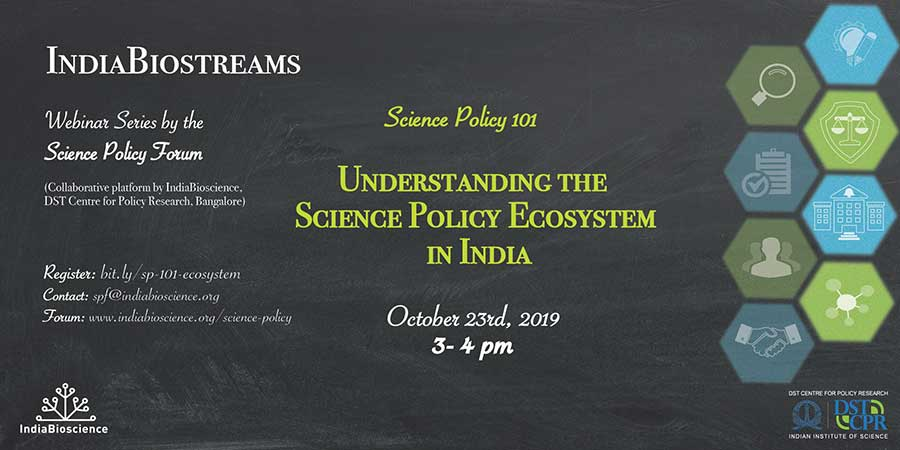 Understanding the Science Policy Ecosystem in India
