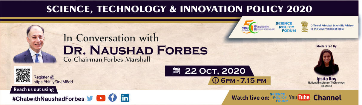 In Conversation with Dr. Naushad Forbes